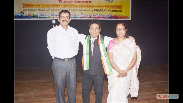 Chief Guest Mrs.Jayanthi Molly & Mr.Ramanna Devadiga LCC,Mumbai Chairman