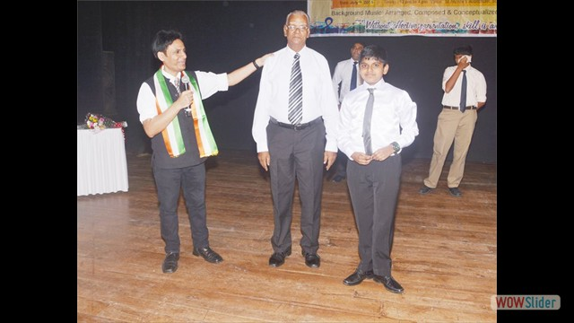 The Youngest & The Oldest Student Mr.K.Narayanan & Mas.Melvin Matchavel