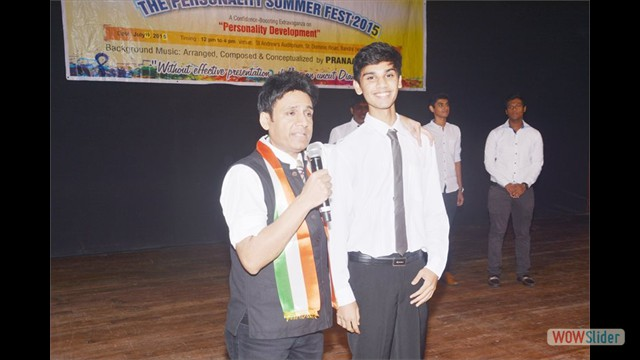 Student Mr.Janak Rathod