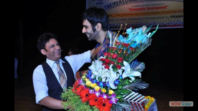 Chief Guest Mr.Sandip Soparrkar